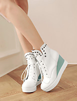 Women's Shoes  Wedge Heel Wedges Boots Office & Career/Casual Black/Blue/White