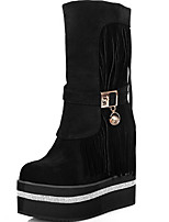 Women's Shoes  Platform Fashion Boots Boots Casual Black