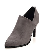 Women's Shoes Stiletto Heel Fashion Boots Boots Casual Black/Red/Gray