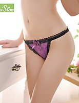 Female Low-waist Seamless Underwear & Sexy Tempatation T Pants with European and American  Metal Buckle 2081