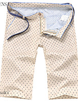 The 2015 men's pants five summer new thin slim casual shorts