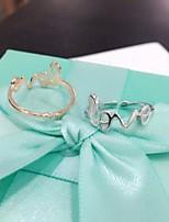 925 Silver Love Rings