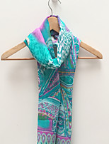 Unisex Colorful Pattern Print  Cotton Scarf
