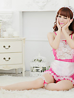 Women Uniforms & Cheongsams Nightwear , Cotton Blends