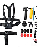 13 in 1 Sports Camera Accessories Kit for GoPro Hero 4/3+/3/2/1/sj4000/sj5000/sj6000/xiaomi yi