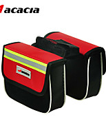 ACACIA Rain-Proof/Multifunctional Bike Frame Bag Cycling <10 L Red/Gray/Black/Blue 600D Ripstop