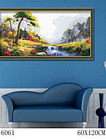 DIY Digital Oil Painting  Large Size Without Frame  Family Fun Painting All By Myself     Trickling Water 6061