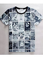 Men's High Quality Creative Realistic Restoring Ancient Ways Original Summer Breathable 3D Style T-Shirt——The Puzzle