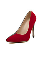 Women's  Shoes    Heel Heels/Pointed Toe Pumps/Heels Office & Career/Casual Red/White