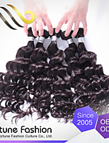 3pcs Ibeauty High Standard Brand Product Unprocessed Vietnamese Water Wave  Human Hair Sew in Weave