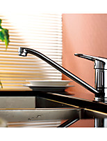 Classic Solid Brass Single Handle Kitchen Faucet Chrome