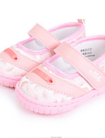 Baby Shoes Casual Fabric Flats Pink/Red