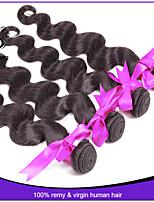 Peruvian Body Wave 4pcs 7A Unprocessed Peruvian Virgin Hair Human Hair Weave Soft Peruvian Hair Extension