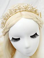 Licht Metaal/Imitatie Parel Vrouwen/Bloemenmeisje Helm Bruiloft/Speciale gelegenheden Hoofdbanden Bruiloft/Speciale gelegenheden 1 Stuk