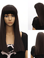 Japan and South Korea Detonation Model of High Quality Fashion Long Straight Hair Girl Fashion Must-Have Wig