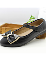 Girls' Shoes Outdoor/Dress/Casual Round Toe/Closed Toe Faux  Flats Black/Red
