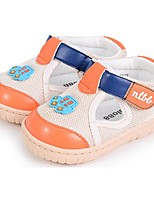 Baby Shoes Casual Tulle Fashion Sneakers Orange/Khaki