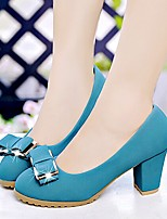 Amir 2015 Hot Sale Women's Shoes Chunky Heel Comfort/Round Toe Pumps Office & Career Black/Blue/White