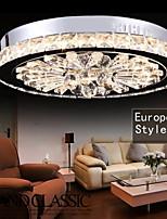 Lustre/Lampe suspendue - Contemporain - avec Cristal/LED - Métal