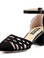 Women's Shoes Chunky Heel Heels Pumps/Heels Casual Black/Gray