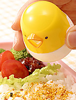 Cute Yellow Chick Portable Seasoning Glass Spice Herb Shaker Bottle