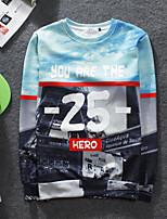 Men's High Quality Creative 3D Sweater Lovely Stereo Fashion Personality——Digital