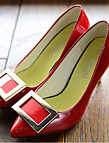Women's Shoes  Stiletto Heel Pointed Toe Pumps/Heels Dress Black/Pink/Red/White