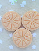 NEW 2015 Slice Of Lemon Fruit Soap Mold Fondant Cake Chocolate Silicone Mold, Decoration Tools Bakeware