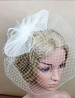 Women Fabric Hair Clip , Party / Casual Flower Veils Headpiece