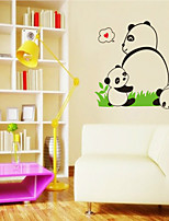 Wall Stickers Wall Decals Style Panda PVC Wall Stickers
