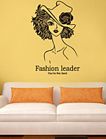 Wall Stickers Wall Decals Style Fashion Leader PVC Wall Stickers