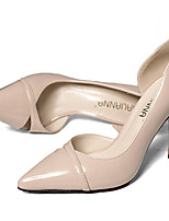 Women's Shoes Stiletto Heel Closed Toe Pumps/Heels Office & Career/Party & Evening/Dress Black/Pink/White/Gray/Beige