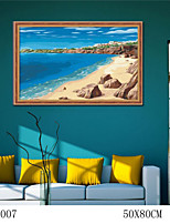 DIY Digital Oil Painting  Large Size Without Frame  Family Fun Painting All By Myself     Love Sea 6007