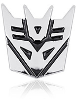 Transformers  3D Car Stickers Decorative Stickers Auto stickers Alloy material
