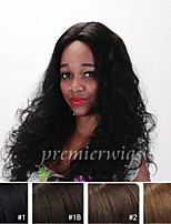Glueless Indian Virgin Remy Lace Front Wigs With Baby Hair natural For Black Women Natural Curl Human Hair Wigs