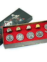 Assassin's Creed Alloy Emblem -Ring 10PCS Set