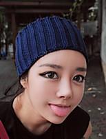 Fashion Style Empty Knitting Yarn Hat