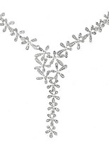 Collana Per donna Fidanzamento/Festa/Quotidiano/Casual Strass Lega