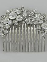 Alloy/Rhinestone Hair Combs Wedding/Party Headpieces/Hairjewelry 1pc