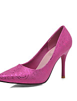 Women's Shoes Stiletto Heel Comfort / Pointed Toe Heels Outdoor / Office & Career / Dress / Casual Blue / Red / Beige