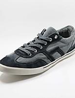 Scarpe da uomo - Sneakers alla moda - Casual - Tessuto - Nero / Blu / Blu scuro