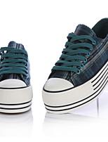 Scarpe Donna - Sneakers alla moda - Tempo libero / Casual - Plateau / Punta arrotondata - Plateau - Di corda - Blu / Verde / Rosso
