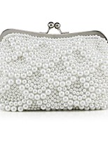Handbag Crystal/ Rhinestone/Imitation Pearl/Polyester Evening Handbags/Clutches With Crystal/ Rhinestone/Imitation Pearl