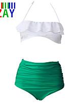 Bikini ( Nailon/Poliéster )- Sin Soporte - Bandeau para Para Mujer