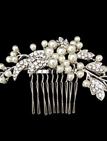 Women Rhinestone/Alloy/Imitation Pearl Hair Combs With Wedding/Party Headpiece