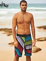 Islandhaze 2015 Summer New Product Men's Elasticate Quick-Dry Sports Beach Pant/Shorts