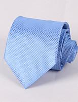 Pale Blue Grid Tie #PT061