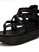Women's Shoes Platform Platform Sandals Casual Black/Khaki