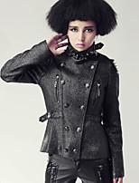 PUNK RAVE Y-425 Women's Vintage/Casual Medium Long Sleeve Regular Jackets