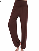 2015 New Fashion Women High Waist YOGA Running Sport Pilates Pants